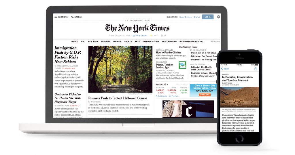 New York Times Digital