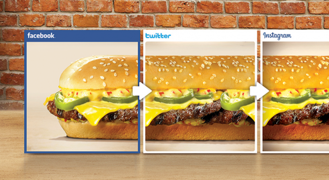 This burger is so long it won't fit on social media channels | Burger King