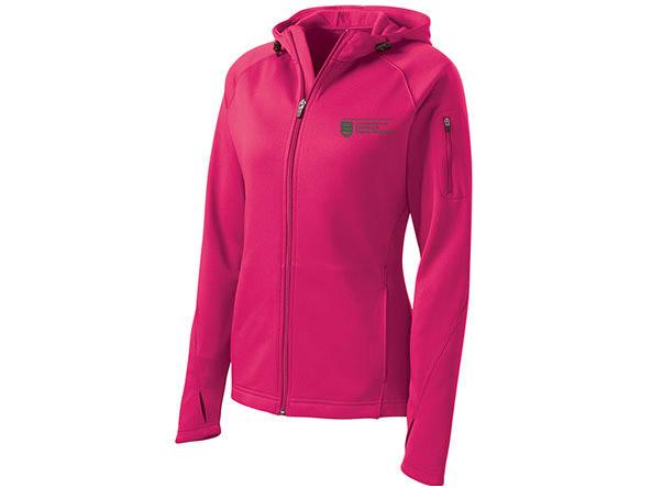 Ladies Sport-Tek Fleece Hooded Jacket