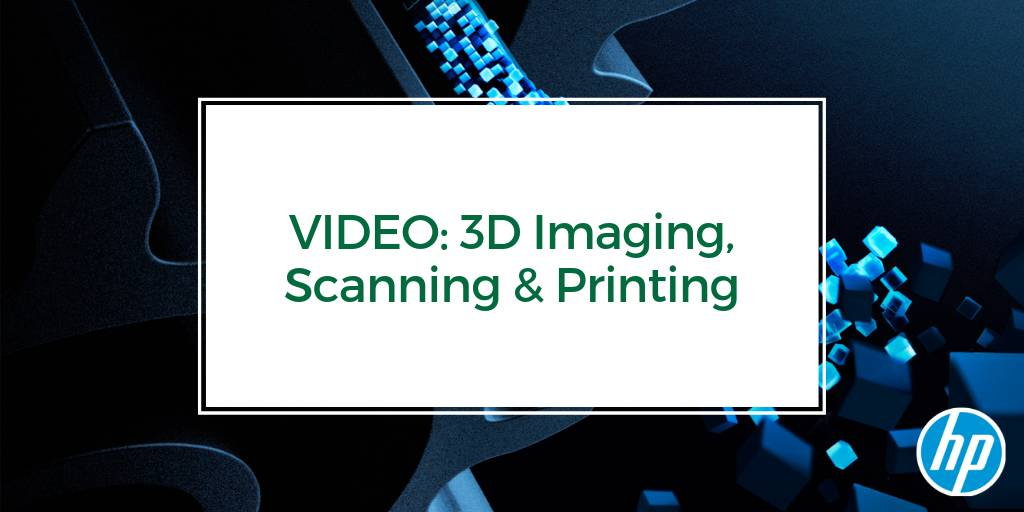 Computing in the 3rd Dimension: 3D Imaging, Scanning & Printing at